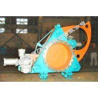供应石家庄阀门一厂生产的环球牌混合煤气支管电动扇形阀(QC943CX-1.5 DN400-2600)