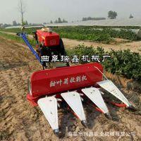 小型稻麦收割机 经济作物割晒机 河南新型玉米秸秆收割机