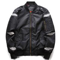 跨境速卖通ebay厂家直供 欧美秋冬新款亚马逊飞行服空军夹克大码外套