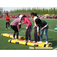 沈阳学校军训开学了趣味比赛道具协力竞走纯实木