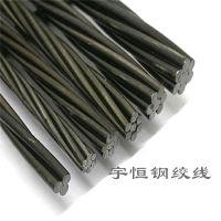 天津小牛牌1*7 15.2mm预应力钢绞线 预应力锚具