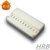 HRB 供应2.54MM IDC刺破连接器 90度带脚 鸿儒M2050 TE 3-1744020-2