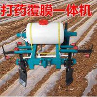 花生种子覆膜机 富兴玉米喷药覆膜机 农用起垄喷药机厂家价格