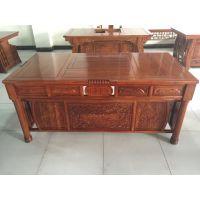 供应实木办公桌 老榆木现代中式大班桌