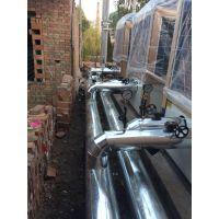 供应滨州专业镀锌板管道保温施工加工制作安装队