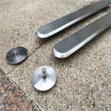 新云 不锈钢盲道条 铸造加工 硅溶胶浇铸 地铁导盲专用盲道条
