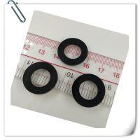 亲涵 硅胶黑色四分管橡胶垫片 19*11.5*2.5mm 批量现货供应