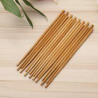 天然无漆无蜡无节碳化竹筷子家用餐具套装8双装筷子 2元商品批发