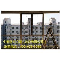 蓝卡门窗铝包木木包铝窗户封阳台别墅门窗断桥铝合金窗平开红橡木 .