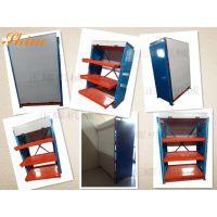 带卷帘门模具货架─突破性的创新 抽屉式货架 贵重模具存放方法