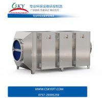 UV光触媒废气处理设备 不锈钢除臭除异味环保设备 天清佳远