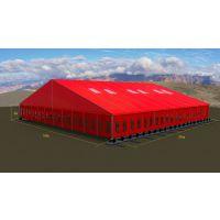 水泥厂仓储棚房_煤场遮尘棚_可移动式篷房方案