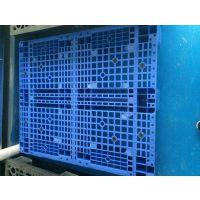 供应重型塑胶卡板 双面塑料托盘 1412叉车栈板 网格新料地台板