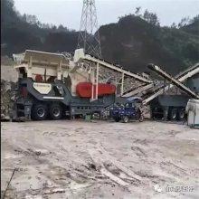 甘肃可移动河卵石破碎机,恒美百特柴油发电机组建筑垃圾破碎机