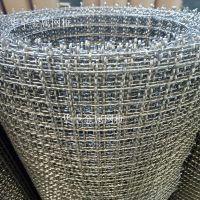 圈粮食用316耐腐蚀1.5米宽方孔网 2目5mm网孔编织轧花网