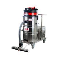供应威德尔手推式电瓶工业吸尘器WD-80P车间粉尘吸尘器干湿两用