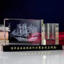 定做商会成立纪念礼品,商会周年庆典礼品,商会成立留念小礼品,上海会议留念水晶礼品定制
