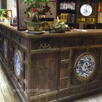 选择高档红木陶瓷板 景德镇家居装饰陶瓷板制作工艺