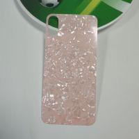 贝壳玻璃手机壳水贴定制 彩绘贝母片材加工水转印
