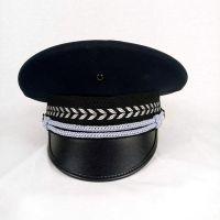 大盖帽厂家定制各种保安帽铁路公安红军帽特行帽子演出制服道具帽