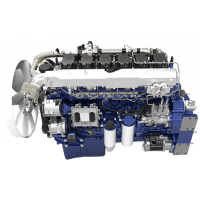 潍柴动力WP12G340E311国三发动机 80装载机专用250kw电控柴油机
