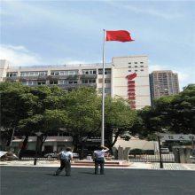 金裕 江苏南京学校旗杆订做厂家 江苏南京不锈钢锥形旗杆