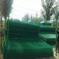 绿网围栏网厂家 铁网隔离栅绿色浸塑铁丝网护栏优盾支持定做