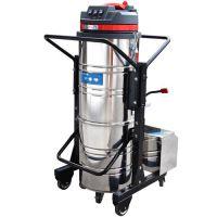 供应漳平市塑胶厂专用除尘设备IV-1550伊博特无线电瓶推吸式吸尘器环保设备