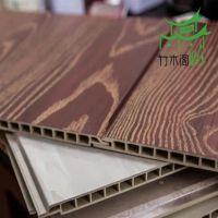 爆款推荐 快装板材 竹木纤维集成墙板 新型室内装饰墙板