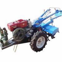 土壤耕整机械 江西小型手扶拖拉机旋耕机 12马力农用拖拉机