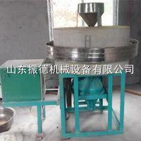 厂家供应 石磨五谷杂粮面粉加工设备 电动石磨面粉机 振德牌 面粉机