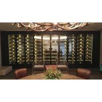 定制古典中式不锈钢酒柜 高端酒柜定做厂家