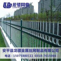 厂区围墙护栏 工业园围墙护栏 河道隔离围栏