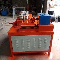 九轮液压全自动弯管机 温室大棚骨架方管圆管弯管机