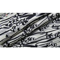 武汉新品条纹女装面料F05805布纺
