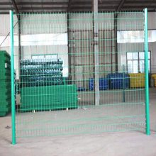 围场围栏网厂家 浸塑金属钢丝网 3米高护栏网