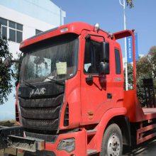 江淮格尔发单桥挖机拖车拉150挖机的平板车厂家