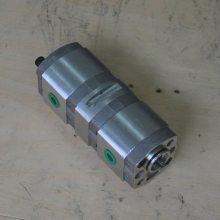 CBK2.6/2.6系列双联齿轮泵(左旋,侧进侧出)