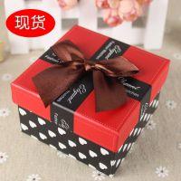 儿童手表包装厂家直销彩色蝴蝶结手表盒子天地盖纸盒饰品包装盒