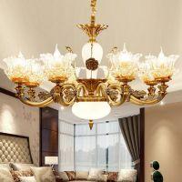 同心结谛灯饰 福州市吊灯精美法式水晶吊灯,照亮你的家庭