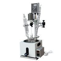 实验室单层玻璃反应釜1L-200升 搅拌真空蒸馏冷凝滴加合成 金时速