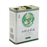 2l食用油铁罐 拉伸盖 山茶油铁罐 马口铁桶 定制1.5L-2L-2.5L-3L