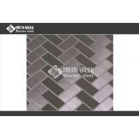 厂家直销304抗指纹不锈钢拉丝蚀刻板,定制不锈钢蚀刻花纹板