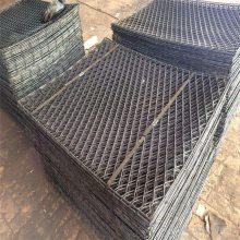 钢笆片生产厂家-安平一诺菱形孔喷漆钢笆片(建筑踩踏板)量大优惠