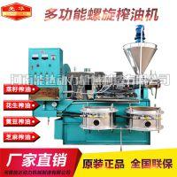 现货供应广西桂林山茶籽榨油加工设备 多功能茶籽榨油机 处理量大厂家直销