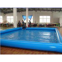 很多孩子一起游泳的水池哪买 充气水池玩具的多少钱 加厚打气盛水气垫池子