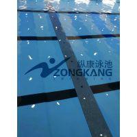 贵港游泳池设备安装/室内外钢结构泳池专业定做/广州纵康恒温过滤设备
