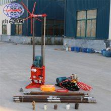 岩土工程取样钻机 QZ2D 工程钻探机型号 多 山东鲁探 回转式钻机