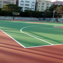 惠州篮球场施工|丙烯配篮球场价格|篮球场翻新
