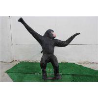 厂家直销 动物雕像 仿真猴子 仿真动物 创意工艺品